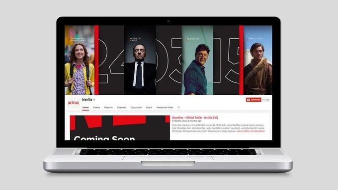Студия показала новый брендинг Netflix . Изображение № 7.