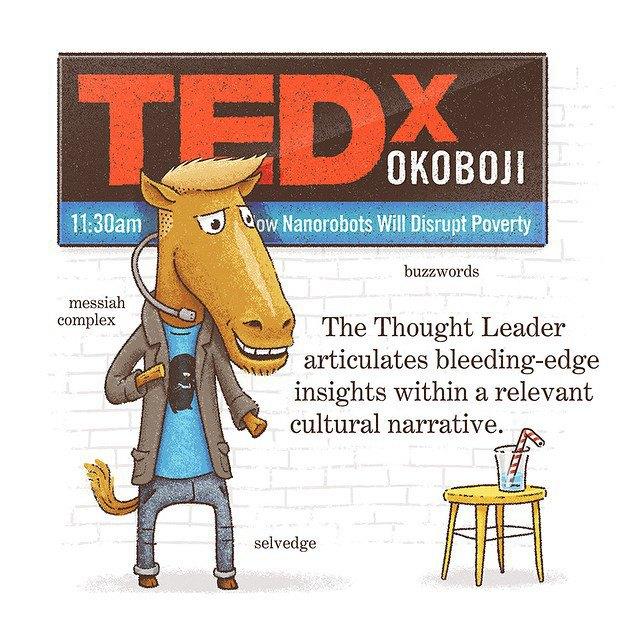 «Лидер мнений излагает новейшие идеи в соответствующем культурном контексте». Изображение № 9.