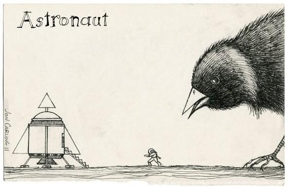Jon Carling – мистерии в гелевой ручке. Изображение № 19.