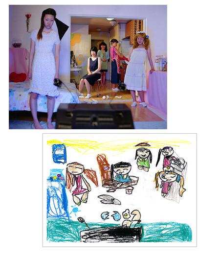 Фотографии подетским рисункам. Изображение № 1.