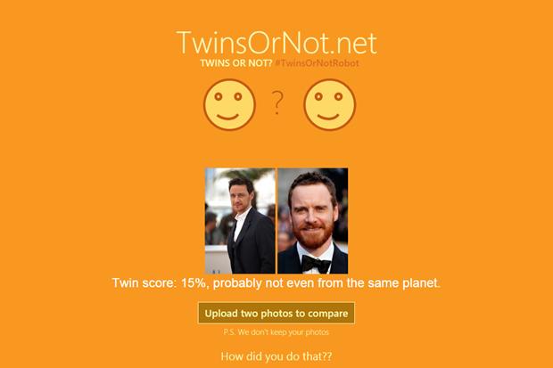 Майкл Фассбендер имеет сходство с Джеймсом МакЭвоем на 15%. Изображение № 1.