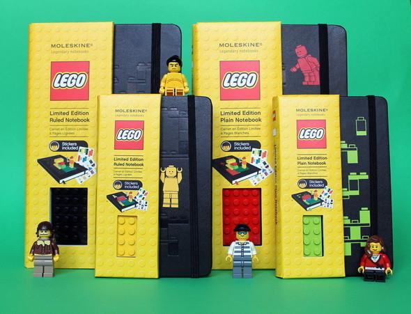 Новая серия Moleskine LEGO. Изображение № 3.