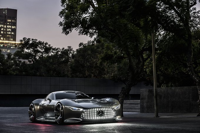Mercedes-Benz разработала концепт спорткара для новой части Gran Turismo. Изображение № 11.