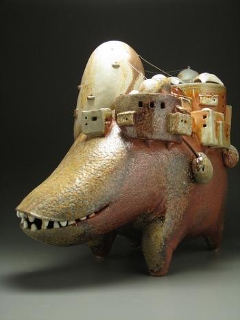 EvaFunderburgh забавные керамические монстры. Изображение № 12.