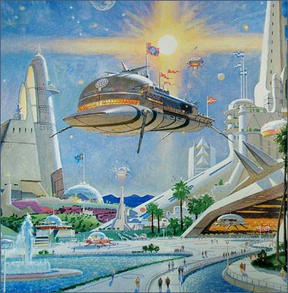 Каким было будущее. Космореализм Роберта МакКолла. Изображение № 18.
