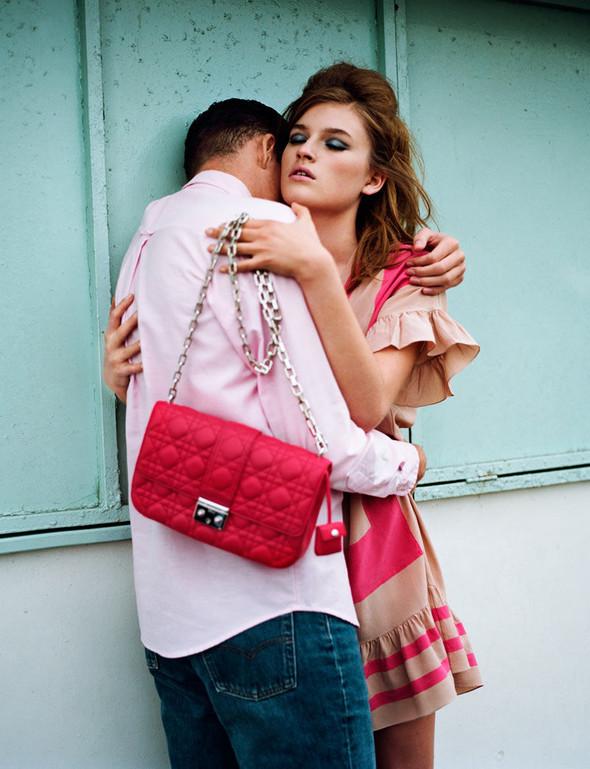 Съёмка: Молли Смит в Dior для Wonderland. Изображение № 6.