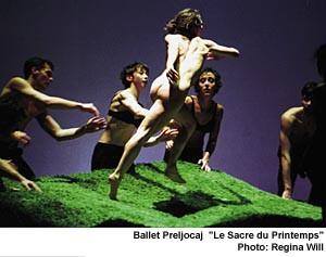 Oбнаженность всовременном танце. Изображение № 1.
