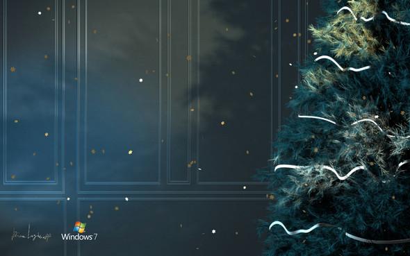 Новогодние обои Microsoft от Димы Логинова. Изображение № 1.