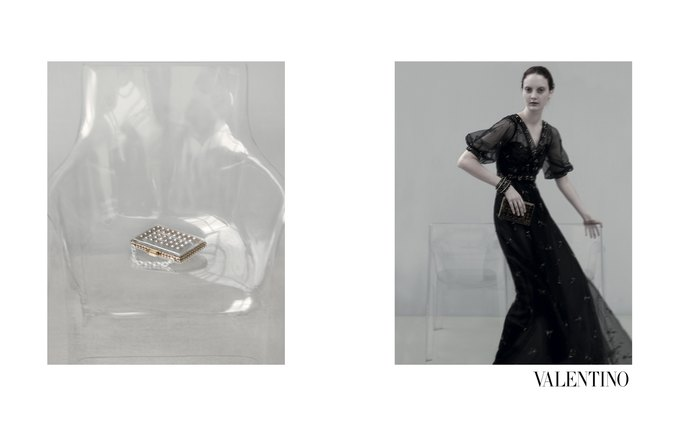 Семидесятидвухлетняя Сара Мун сняла кампанию Valentino. Изображение № 12.