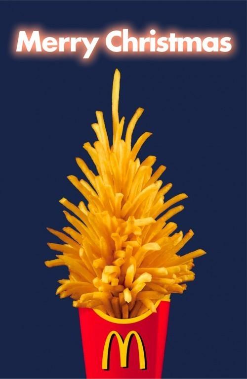 Новогоднее - Рождественский креатив в рекламе. Изображение № 59.