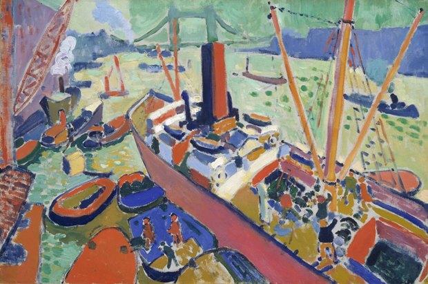 «Лондонская гавань» Андре Дерена. Изображение № 2.