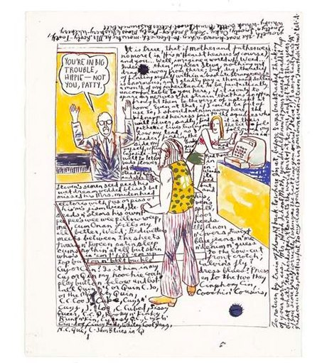 27 работ, за которые я люблю автора обложек Black Flag и Sonic Youth. Изображение № 22.