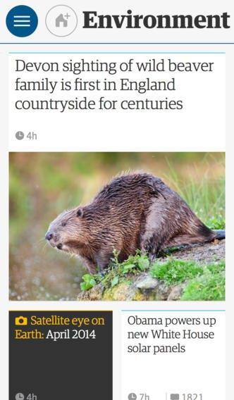 Мобильное приложение The Guardian получило глобальный редизайн. Изображение № 7.