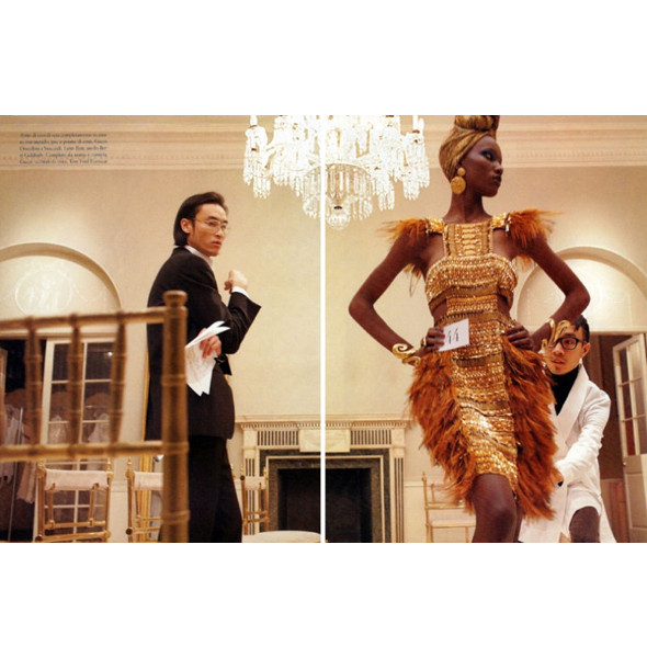 Изображение 46. Съемки: Harper's Bazaar, Metal, V и Vogue.. Изображение № 40.