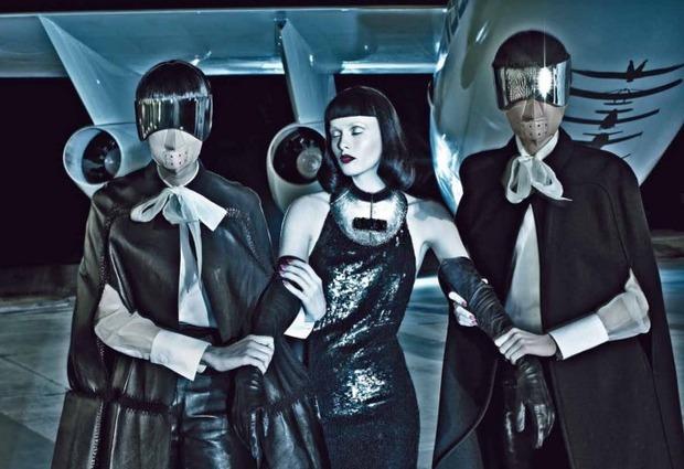 Новые съемки Dazed & Confused, Vogue, i-D и W Magazine. Изображение № 50.