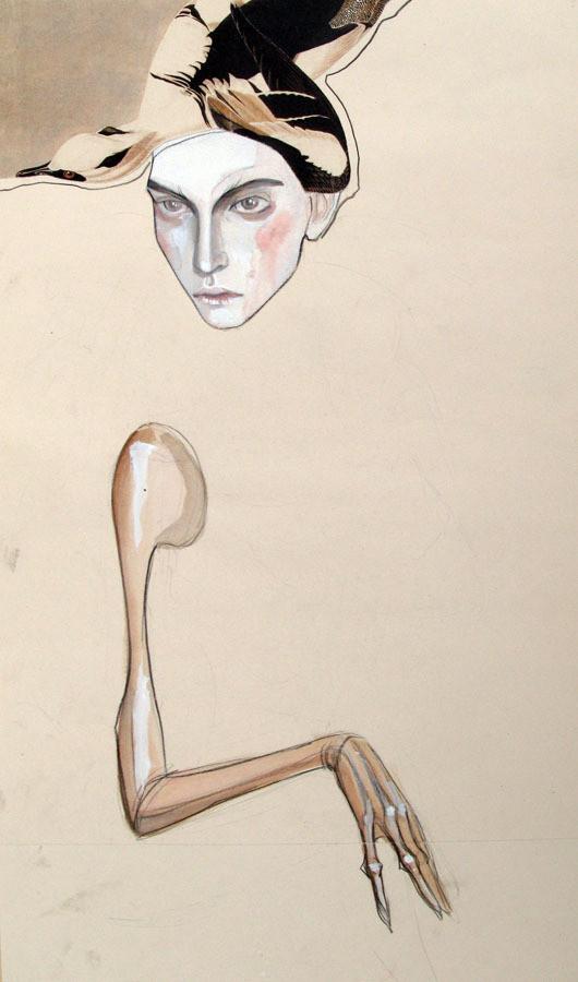 Изображение 15. Fashion-иллюстрационация от Anne Sofie Madsen.. Изображение № 15.