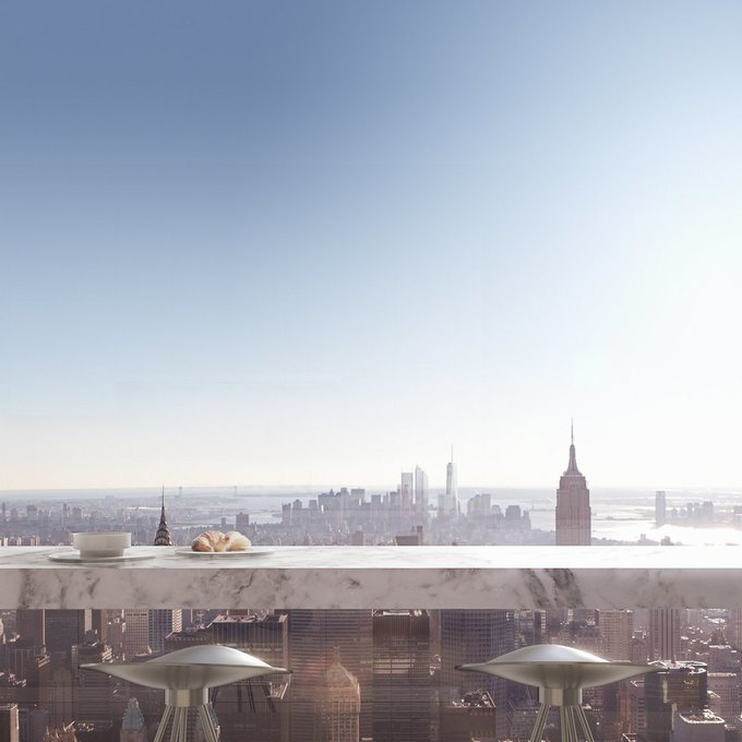 Фото дня: вид с самого высокого жилого здания Нью-Йорка. Изображение № 10.