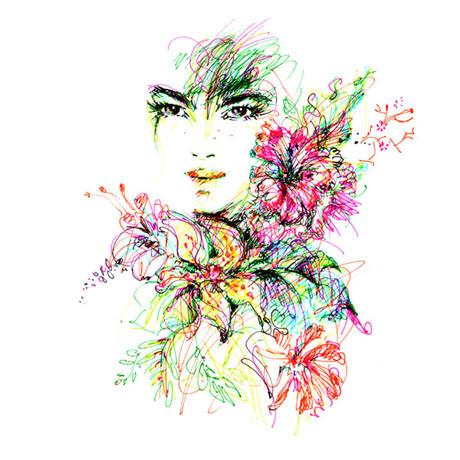 Иллюстрации Antoinette-Fleur. Изображение № 10.