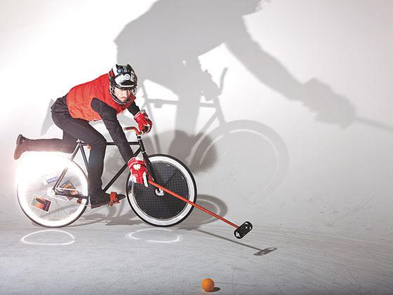 Велосипед для игры в поло от Louis Vuitton. Изображение № 1.