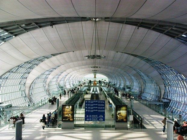 Аэропорт в Бангкоке. Изображение № 1.