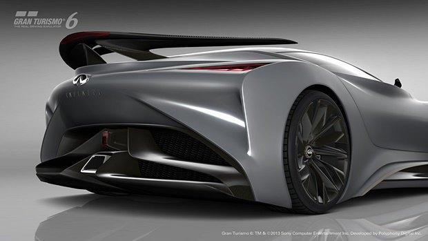 Концепт: суперкар Infiniti для игры Gran Turismo. Изображение № 27.