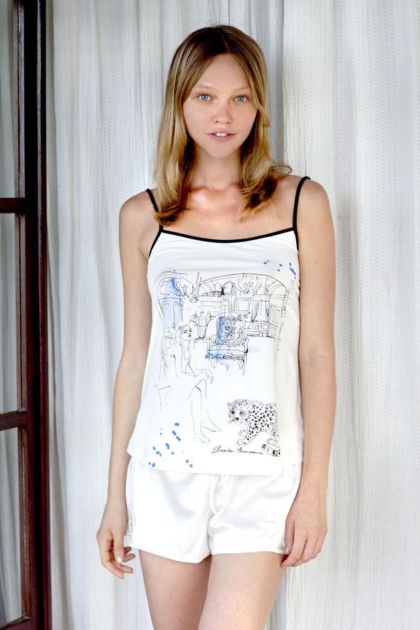 Лукбук: Коллекция белья Саши Пивоваровой для Gap. Изображение № 1.
