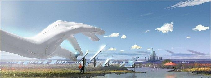 Спецэффекты: город будущего в рекламе Toshiba . Изображение № 3.
