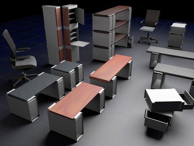 Дизайнер создал мебель изкомпьютера Apple. Изображение № 1.