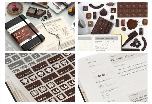 Шоколадный Moleskine для сладкоежек. Изображение № 2.