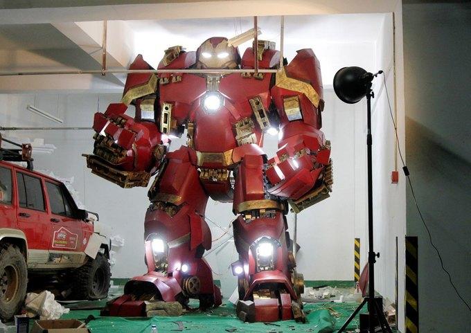 Житель Китая собрал доспехи Железного человека в гараже . Изображение № 6.