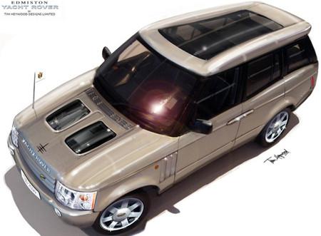 Яхт-дизайн внедорожника Range Rover Superyacht. Изображение № 4.