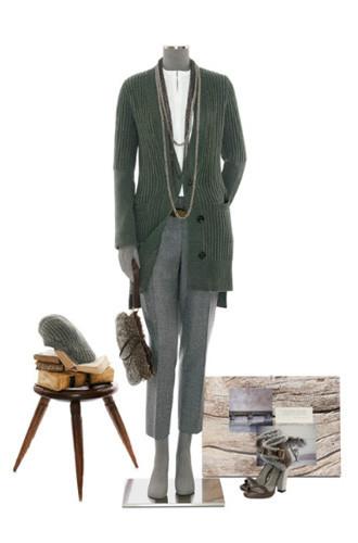 Brunello Cucinelli: лукбук осень-зима 2011/2012. Изображение № 26.