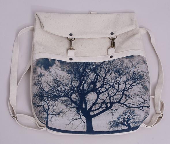БЕЛОЕ — рюкзаки и сумки из грубого белого хлопка. Изображение № 3.