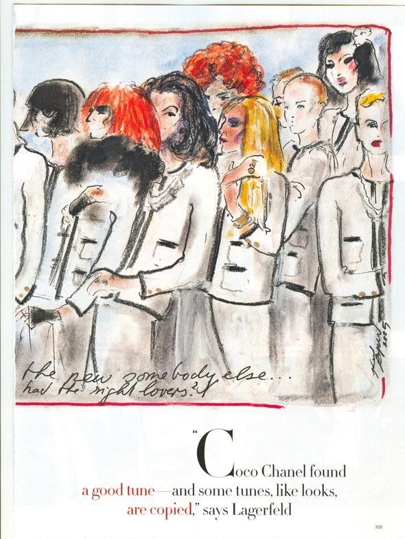 Карл Лагерфельд дляChanel: взгляд назад. Изображение №53.