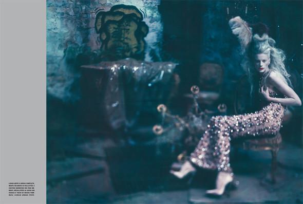 Архивная съёмка: Кристен МакМенами для Vogue Italia, сентябрь 2010. Изображение № 10.