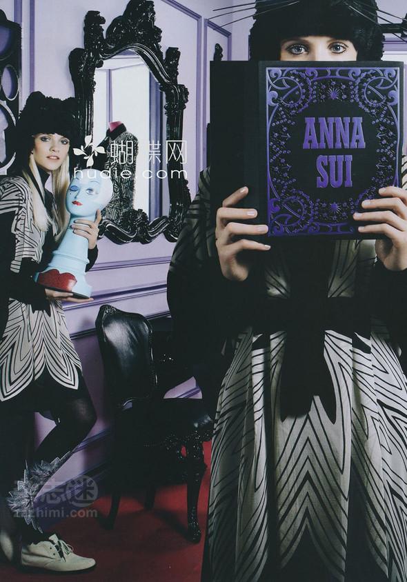 Превью кампаний: Anna Sui и Celine. Изображение № 2.