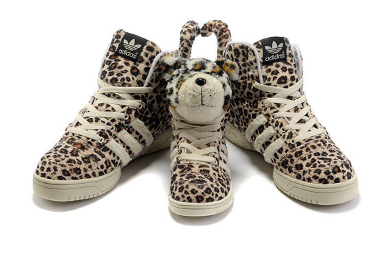 Adidas JS Leopard Tail High Top Shoes. Изображение № 5.