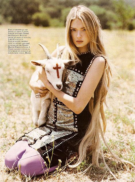 French 'Vogue': Devil Worship IsThe NewBlack!. Изображение № 4.