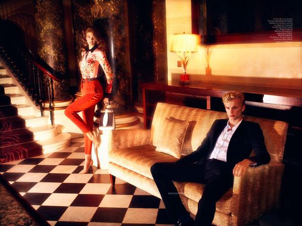 Съёмка: Кендра Спирс для российского Vogue. Изображение № 7.