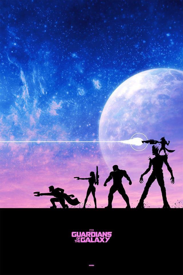 Опубликованы 44 фанатских постера к «Стражам Галактики». Изображение № 28.