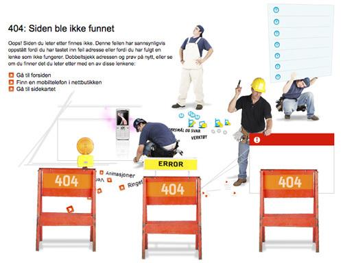 20 Интересных оформлений страницы ошибки 404. Изображение № 4.