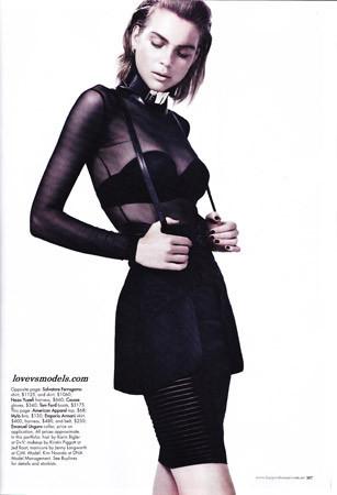 Съёмка в австралийском Harper's Bazaar. Изображение № 89.