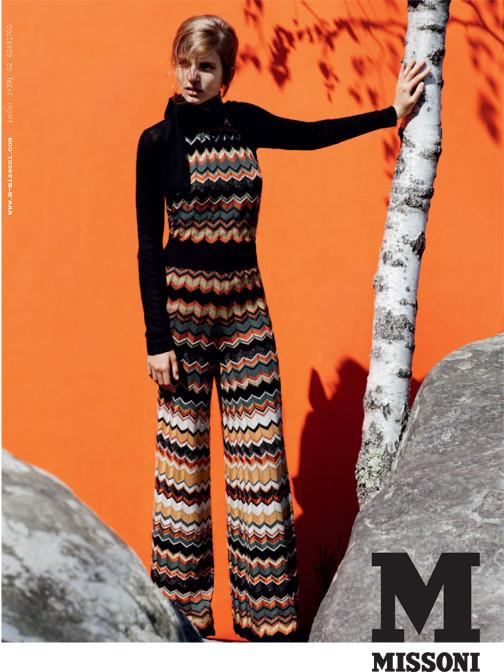 Кампания: Катерина Равалья для M Missoni FW 2011. Изображение № 3.
