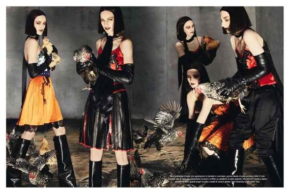 Givenchy FW 2012. Изображение № 12.