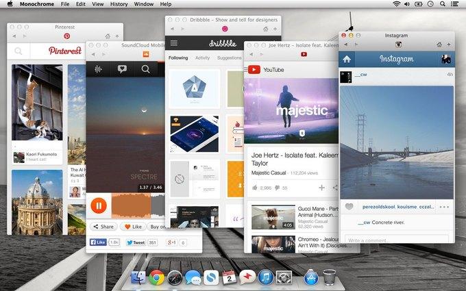 Создан эмулятор мобильного браузера для OS X. Изображение № 1.