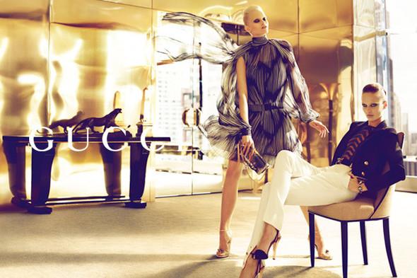 Кампания: Gucci SS 2012. Изображение № 1.