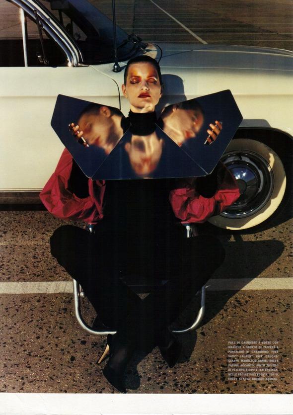 Архивная съемка: 1999 год, Жиневье ван Синус в объективе Марио Сорренти. Изображение № 2.