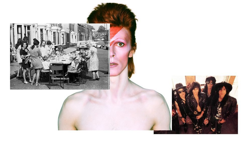 Вечеринки 1970-х, глэм-рок, Дэвид Боуи. Изображение № 16.