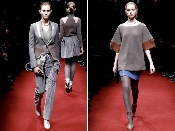Изображение 8. Показы на Paris Fashion Week FW 2011: день 2.. Изображение № 20.