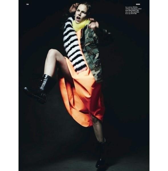 Изображение 1. Съемки: Dazed & Confused, Numero и Vogue.. Изображение № 2.